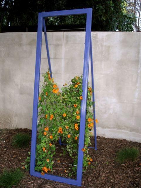 Outdoor Mira Garden Trellis modern-pergolas-arbors-and-trellises