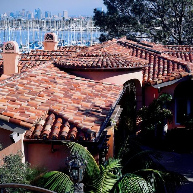 Clay Tile Roof mediterranean