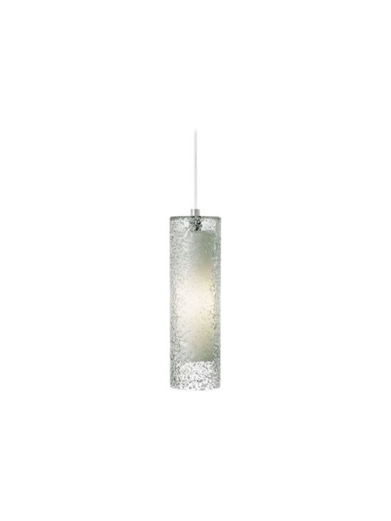 LBL Rock Candy Clear Glass Pendant Light -