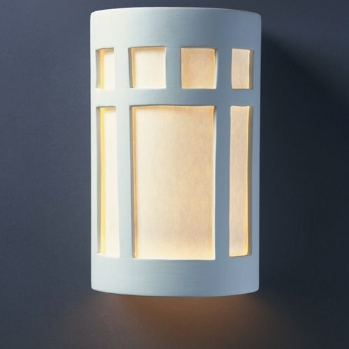 Justice Design Wall Sconces : Prairie Window ADA Outdoor Wall Sconce by Justice Design Group - Modern - Wall Sconces - by Lumens