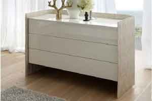 Oyster Dresser By Rossetto contemporary-dressers