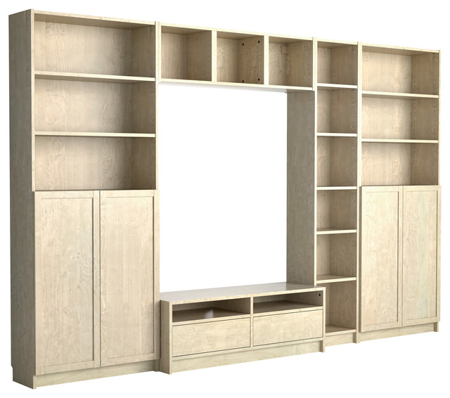 Billy/Benno TV Storage Combination - Modern - TV Cabinets and Stands - by IKEA