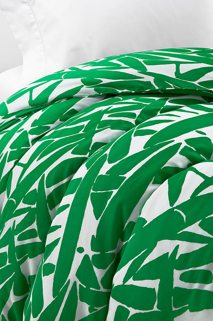 Diane von Furstenberg Giant Grass Duvet contemporary duvet covers