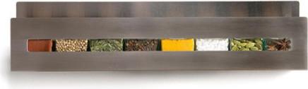 Aperture Spice Rack & Jars by Desu Design contemporary-spice-jars-and-spice-racks