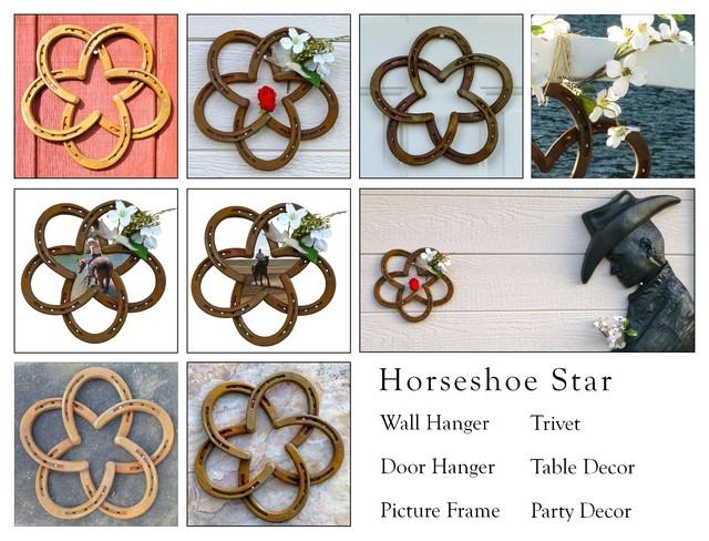 Horseshoe Star - Uses traditional-home-decor