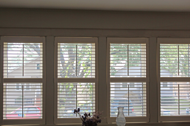 40s Chicago Bungalow Plantation Shutters Craftsman