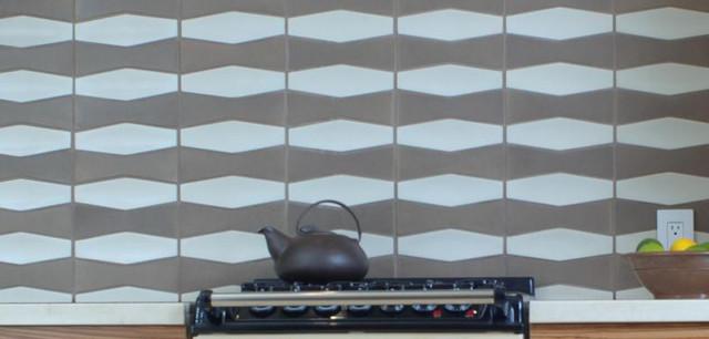 Modern Kitchen Tile modern-tile