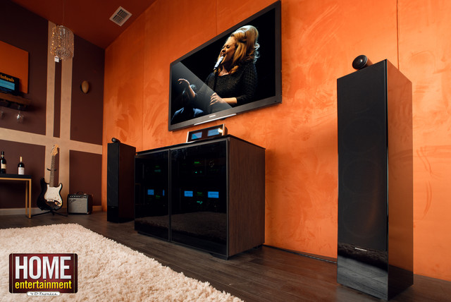 Ultimate music/theater room - Modern - other metro - by Home ...