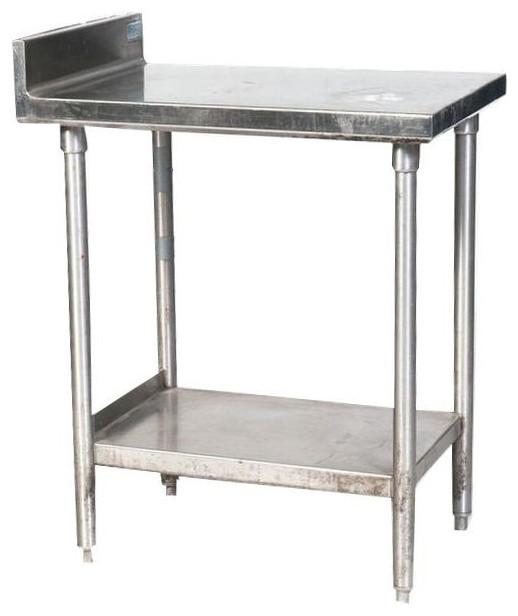 Commercial Metal Kitchen Work Table 650 Est Retail