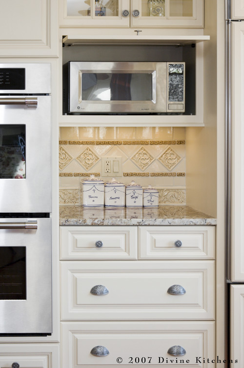 Divine Kitchens LLC More Info - Kitchen Microwave Cabinet