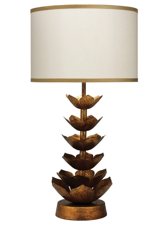 Jamie Young Flowering Lotus Table Lamp Base -