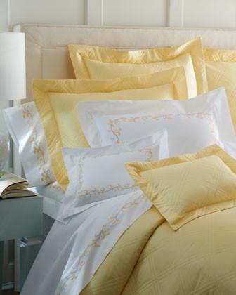 Matouk Windowpane European Sham traditional-pillowcases-and-shams