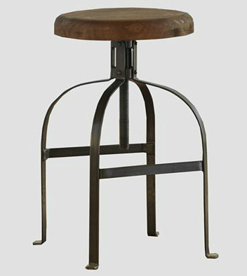 Twist Swivel Stool Industrial Bar Stools And Counter