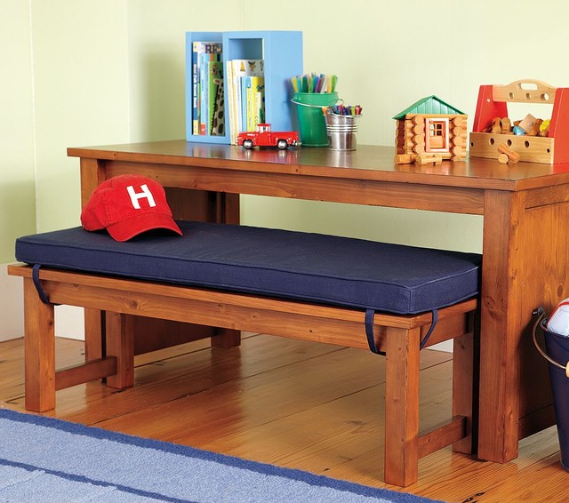 Cameron Table & Bench traditional kids tables