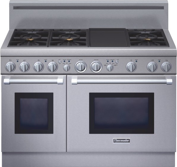 Thermador Professional Series 48 Inch Gas Standard Depth