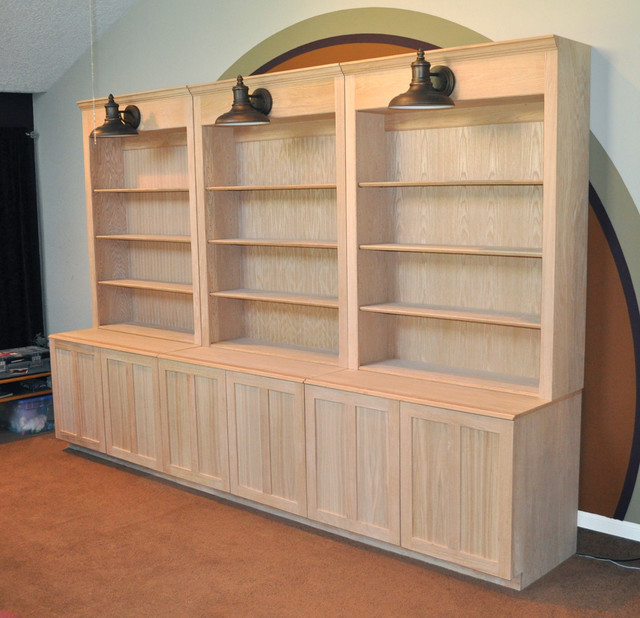 Gift Shop Display Cabinets - Traditional - houston - by Branham Quality Woodwork