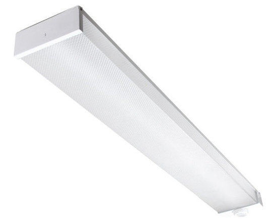 """MaxLite - MaxLite LSU4806SU50DV50 4 Foot LED Utility Wrap Fixture, 5000K - The MaxLite LED Utility Wrap Fixture is a cost-effective replacement for fluorescent or incandescent fixtures. It features a full length U Wrap Acrylic lens and a one-piece 20 gauge steel body. Designed to meet or exceed 7-10 footcandles at 8� installed heights for parking drive lane compliance, the fixtures are ideal for utility lighting in parking garages and stairwells, meeting applicable building and safety codes. To add an occupancy sensor to your product, order the """"MS"""" companion part. It will be installed onto the luminaire at the factory, and the combined part number will have """"MS"""" appended to the end."""