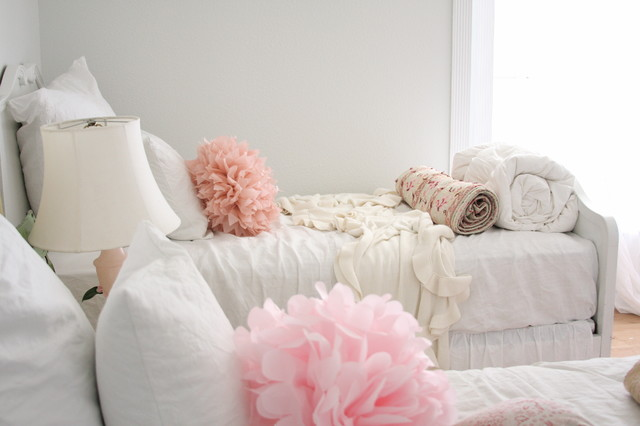 Dreamy Whites eclectic-bedroom