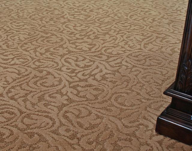 Venezia Stainmaster Carpet Traditional Carpet Tiles