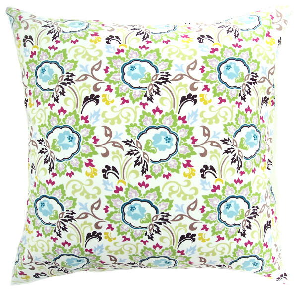 Bloom 20 x 20 Pillow Cover - Ivory decorative-pillows