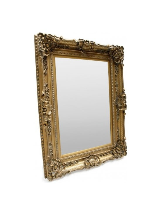 Chichi Furniture Exclusives. - This Gorgeous French style mirror will be the talking point of your room.