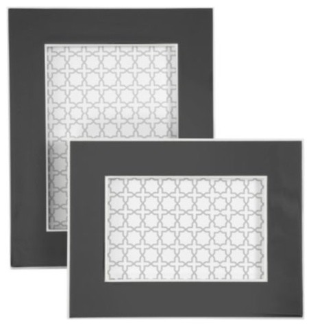 Gelato Frames - Grey - Modern - Picture Frames - by Z Gallerie