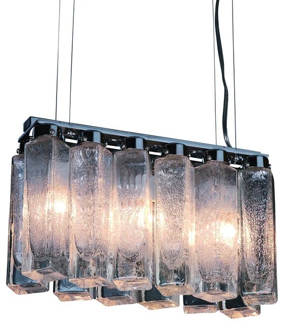 Park Avenue 3-Light Chandelier modern-chandeliers