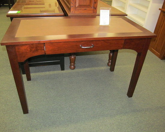Angela Writing Desk with Leather Top -