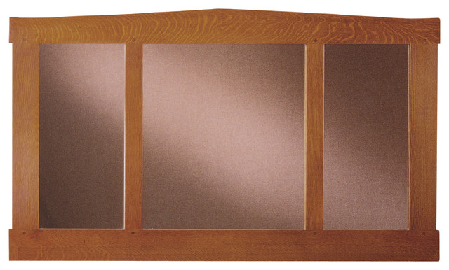 Stickley three glass mirror