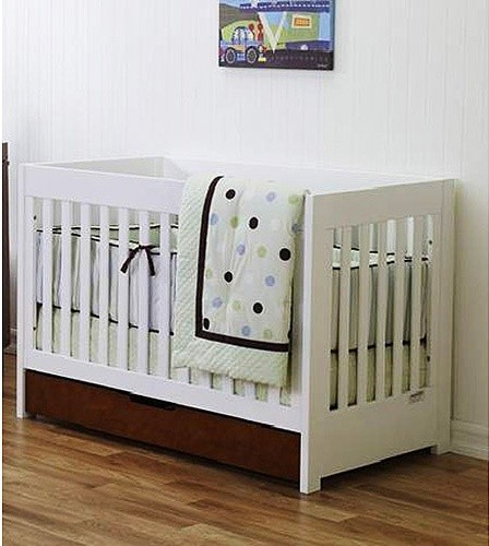 baby mod 3 in 1 convertible crib modern cribs by