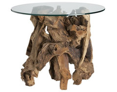 Driftwood Side Table eclectic-side-tables-and-end-tables