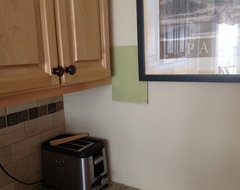 How do I create a french country kitchen without starting from scratch?