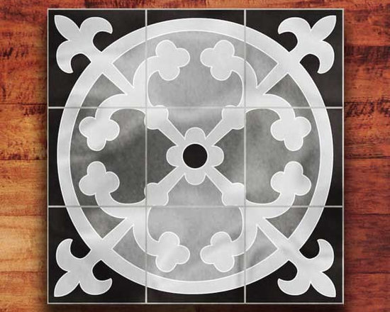 Granite Medallion - These are a few of the Granite Medallions that we have etched.