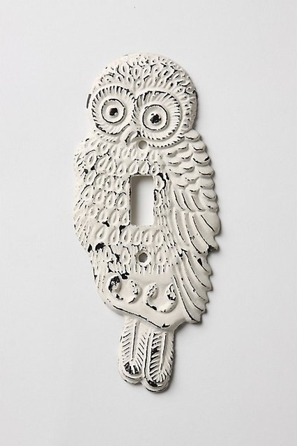 Hoot, Hoot Switchplate eclectic accessories and decor