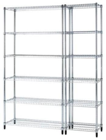 OMAR 2 shelf sections modern-storage-cabinets