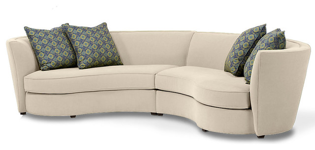 Small round kids table - Joel Sectional Modern Sectional Sofas