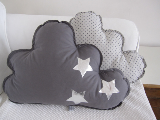 Cloud Cushions, Stars by La Mimi Factory - Contemporary ...