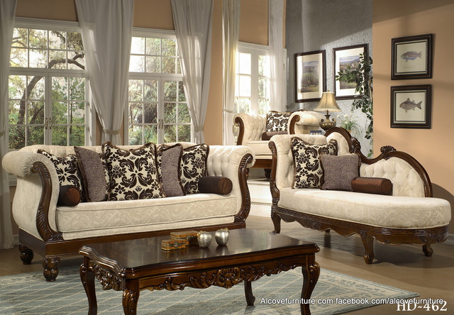 Traditional Sofa Sets Living Room Sets