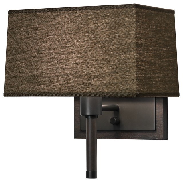 plug in wall lamp contemporary wall sconces by lamps plus. Black Bedroom Furniture Sets. Home Design Ideas
