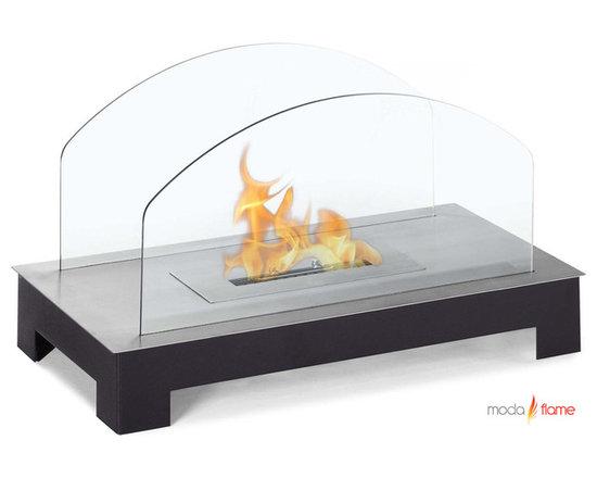 Moda Flame Rota Table Top Ethanol Fireplace - Rota Table Top Ethanol Fireplace