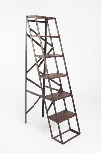 Folding Library Bookshelf eclectic-bookcases