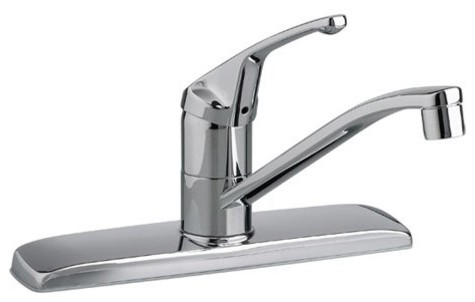 American Standard Colony 4175200 Single Handle Kitchen Faucet traditional-kitchen-faucets