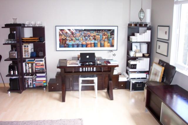 small condo redesign contemporary-living-room