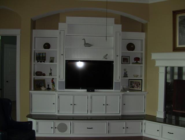 Morgan Residence tropical-living-room