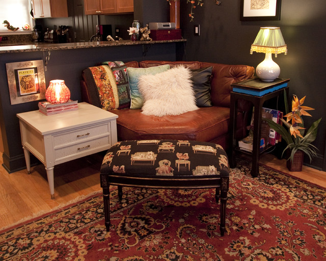 Home Sweet Home eclectic-living-room