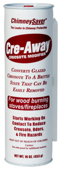 ChimneySaver Cre-Away - 16 oz. Squeeze Tubes, Case of 6 modern-fireplace-accessories