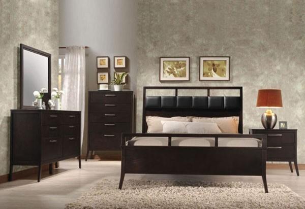 queen bedroom set 20110q 5set transitional bedroom furniture sets