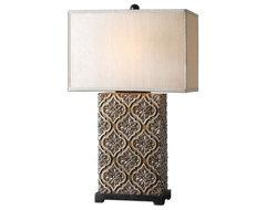 Uttermost David Frisch Decorative Box in Silver Champagne eclectic-accessories-and-decor