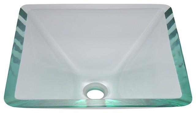 MR Direct 603 Crystal Glass Vessel Sink bathroom-sinks