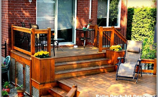 Patio & Decks traditional-porch